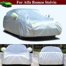 Full Car Cover Waterproof Full Car/SUV Cover for Alfa Romeo Stelvio 2018-2021
