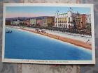 CPA couleurs Nice promenade des anglais et les hôtels Côte d'Azur