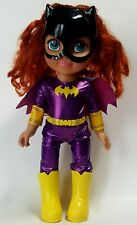 "2017 DC Comics Super Hero Girls 15"" Batgirl Toddler Doll Jakks Original Outfit"
