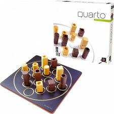 NEW IN BOX Gigamic Wooden Quarto Mini Board Game - Strategy Game 2 Players