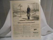 FIBERGLAS 11X14 ADVERTISING PRINT AD