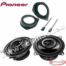 Car stereo rear speakers kit for PIONEER FIAT Grande Punto EVO with adapters