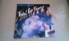LP EVEN AS WE SPEAK FERAL POP FRENZY INDIE POP VINYL SARAH RECORDS