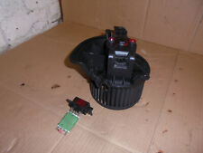 FIAT GRANDE PUNTO 2007 HEATER BLOWER MOTOR AND RESISTOR 164330100 DENSO