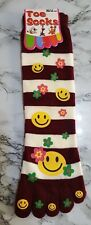 Ladies Girls Warm Winter Toe Stripes Happy Funny Face socks UK 4-7(35-39) 82