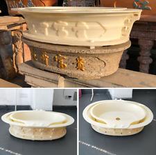 Home Garden Building DIY Bonsai Flowerpot Cement Gypsum Concrete Casting Mold 03