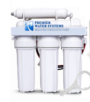 Premier 5 Stage Reverse Osmosis Water Filtration Core System 75 GPD Made in USA