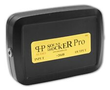 Sound Shocker Pro iPod iPhone MP3 car adapter aux cable amp booster passive pre