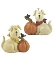 Blossom Bucket...Halloween DOGS with PUMPKINS--You Choose*So Cute*