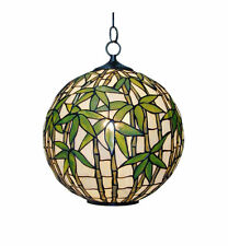 Tiffany Bamboo Ceiling Light Ideal for Living room / Dining room etc