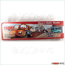 Disney Pixar Cars Rollin' Bowlin' Game with rare Rollin Bowlin Mater blue Deco