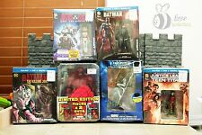 Best Buy exclusive Hellboy Fantastic 4 Batman DVD Blu Ray Sets with Figures