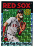 JONATHAN ARAUZ RC 2021 TOPPS SILVER PACK 1986 CHROME REFRACTOR #86BC-87 RED SOX