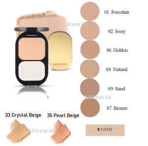 Max Factor Facefinity Foundation Compact SPF20  --Choose shade---