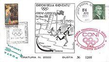 Storia postale - Marcofilia - Italia 1976 - Giochi della gioventù - Posta a mano