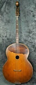 """HUGE VINTAGE 6 STRING BASS GUITAR! OLD AND RARE! 52"""" TALL $1.00 NO RESERVE!!!"""