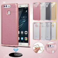 New Bling Silicone Glitter ShockProof Case Cover For Huawei Honor 8 P8 P9 Lite