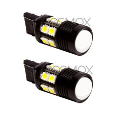 2 Pcs CosMox Xenon White 7440 7443 Projector CREE LED with 12-SMD LED Bulbs