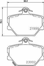 MINTEX MDB2033 BRAKE PAD SET DISC BRAKE Front