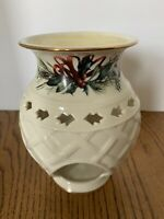 "Lenox Winter Greetings Catherine McClung Fragrance Warmer 6"" Decorative"