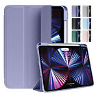 For iPad Mini 6th Gen 8.3 2021 Folding Case Smart Flip Leather Clear Back Cover