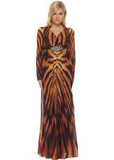Chiffon Long Sleeve Casual Maxi Dresses for Women