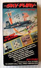 Sky Fury ~ The Best of Skyfire  RARE Fighter Plane Aviation VHS Movie Video Tape