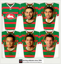 2007 Select NRL Invincible Face/ Guernsey Die Cut Card Team Set: RABBITOHS(12)