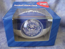 AFL NORTH MELBOURNE KANGAROOS Clock Football shaped alarm clock -NEW!