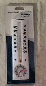 Acu Rite Indoor & Outdoor Thermometer & Hygrometer New