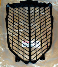 YAMAHA RAPTOR 700 BLACK PLASTIC FRONT RADIATOR GUARD, VENTED COVER 06-12