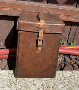 Vintage Brown Leather Photography Camera Case