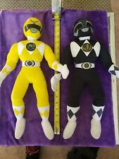 Mighty Morphin Power Rangers Plush 18 inch  Lot Of 2