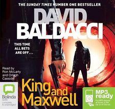 David BALDACCI / KING and MAXWELL         [ Audiobook ]