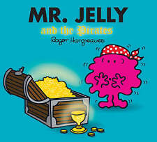 NEW sparkly MR JELLY and the PIRATES (BUY 5 GET 1 FREE book) Little Miss Men