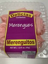 Caribbean Favorite Snacks Merengues Cookies Pink Fresh expire 11/30/2020