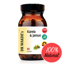 DR WAKDE'S Karela & Jamun Capsules I FREE SHIPPING I 100% Natural Herbal Supplem