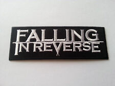 HEAVY METAL PUNK ROCK MUSIC SEW / IRON ON PATCH:- FALLING IN REVERSE No. 0023