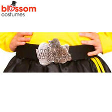 AC116 Deluxe Black Belt Silver Logo Wiggles Book Week Girls Kids Toddler Costume