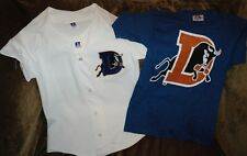 Rare Chipper Jones jersey! Durham Bulls YOUTH SMALL NEW with tags FREE T-SHIRT