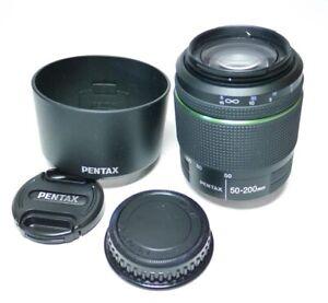 Pentax DA ED WR 1:4-5.6 50-200mm Objektiv An-Verkauf!  ff-shop24