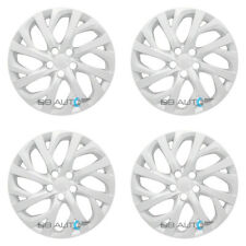 "4 NEW 16"" Silver Hubcaps Rim Full Wheel Covers for 2009-2019 TOYOTA COROLLA"