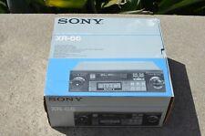 New NOS Old School Sony XR-66 Car Cassette Deck Player Dolby Shaft 1985 vintage