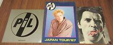3 x Set! P.I.L. Japan tour book Job Lot Sex Pistols Public Image Ltd John Lydon