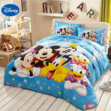 4PC/5pc. DISNEY FRIENDS 100% COTTON TWIN FULL QUEEN COMFORTER SET