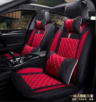 Car Seat Cushions Front+Rear Cushion 5-Seats HOT Breathable Comfortable