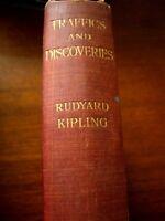 "Rudyard Kipling Pocket Edition Of ""TRAFFICS AND DISCOVERIES "". Macmillan & Co"
