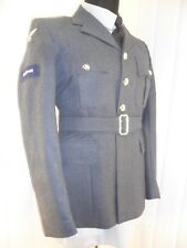 MOD SURPLUS Royal Air Force NO1 Dress SD Uniform parade LAC RAF Jacket tunic 38c