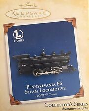 Pennsylvania B6 Steam Locomotive 2005 Hallmark Ornament QX2052 Lionel Train
