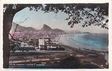 BRAZIL - Rio de Janeiro - Leblon e Ipanema - Photo Postcard